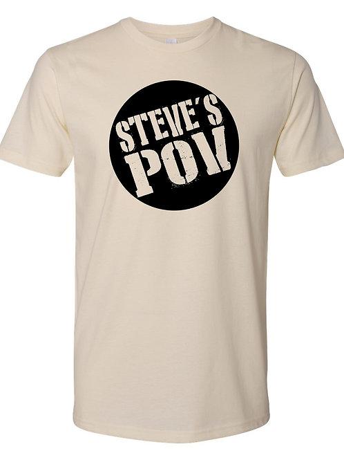 STEVES POV CIRCLE LOGO T-Shirt  (BET09)