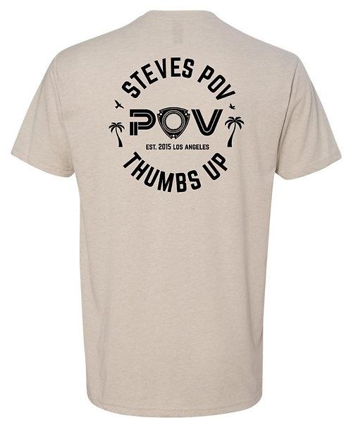 POV Rotary T-Shirt Sand (BET16)
