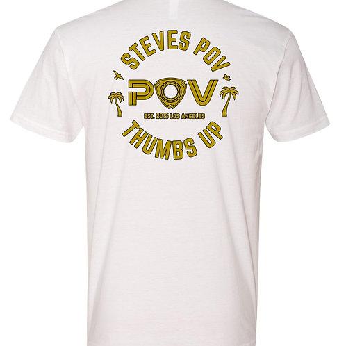 POV Rotary T-Shirt White (BET18)