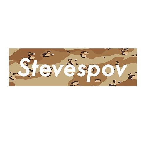 """Steve's POV Official """"Camo"""" Sticker (S06)"""