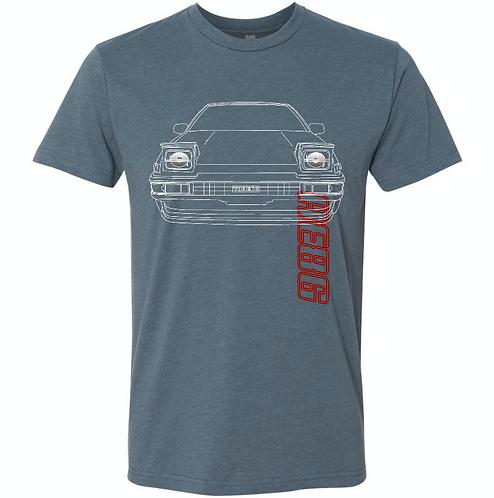 AE86 (HACHIROKU) Original T-shirt Indigo (BET22)