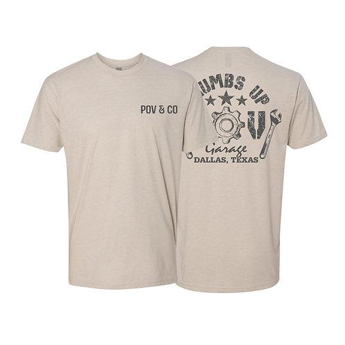 POV Garage Original T-shirt  (T23)