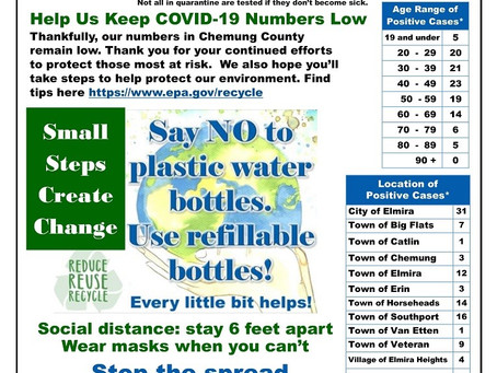 Chemung County COVID-19 Statistics Updates