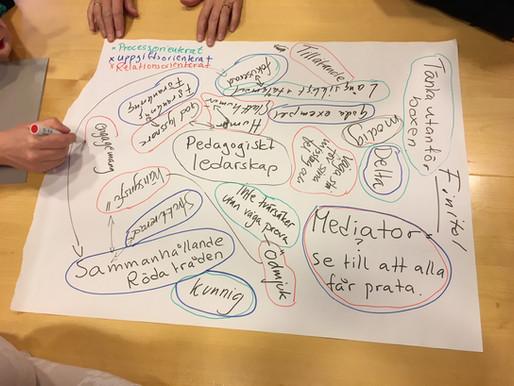 Processledarutbildning på Schillerska gymnasiet i Göteborg