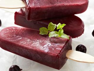 Spa Recipes: Blueberry, Pomegranate, & Kale Popsicles