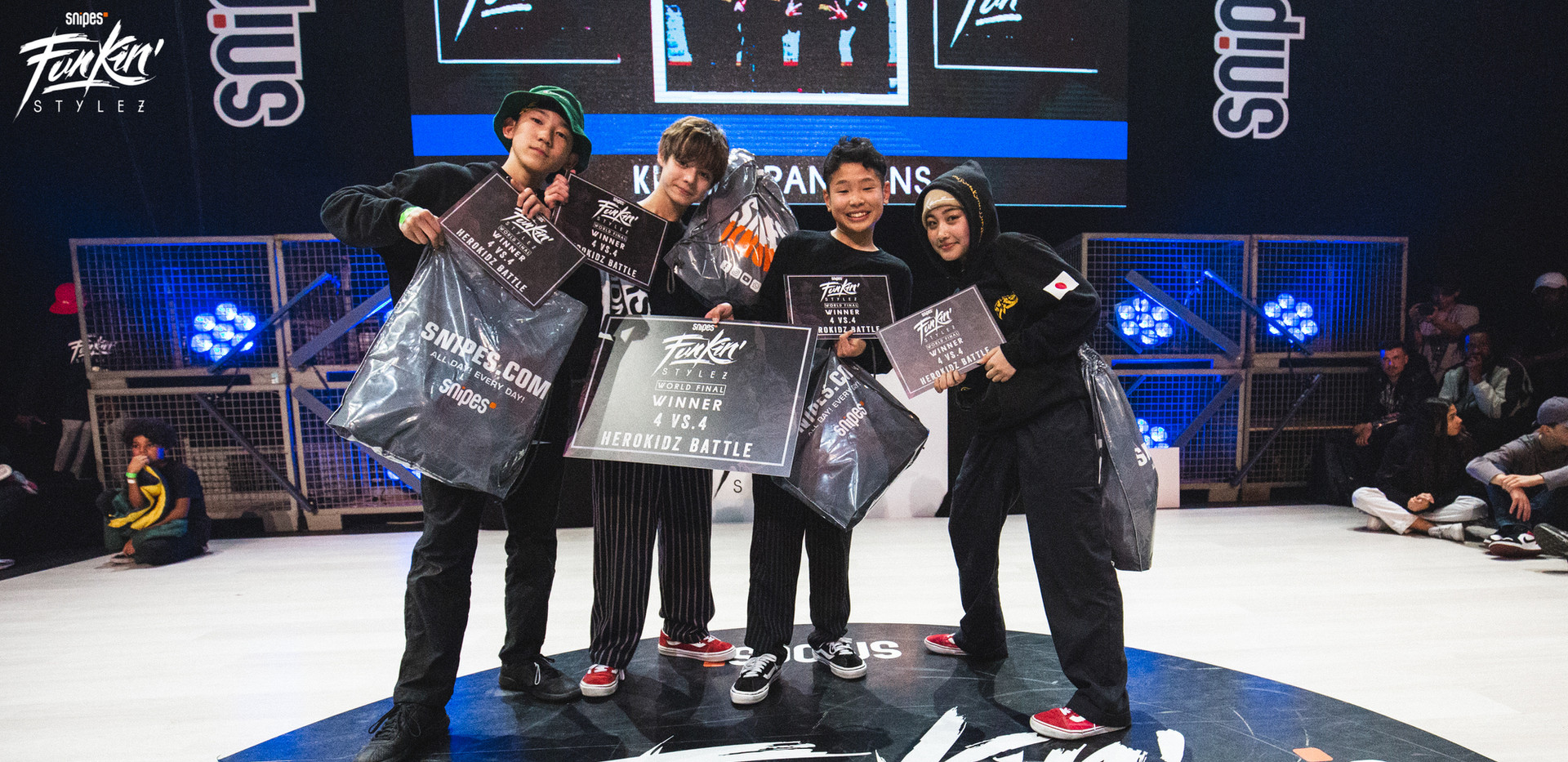 Team Japan Winner Kidz Team Battle