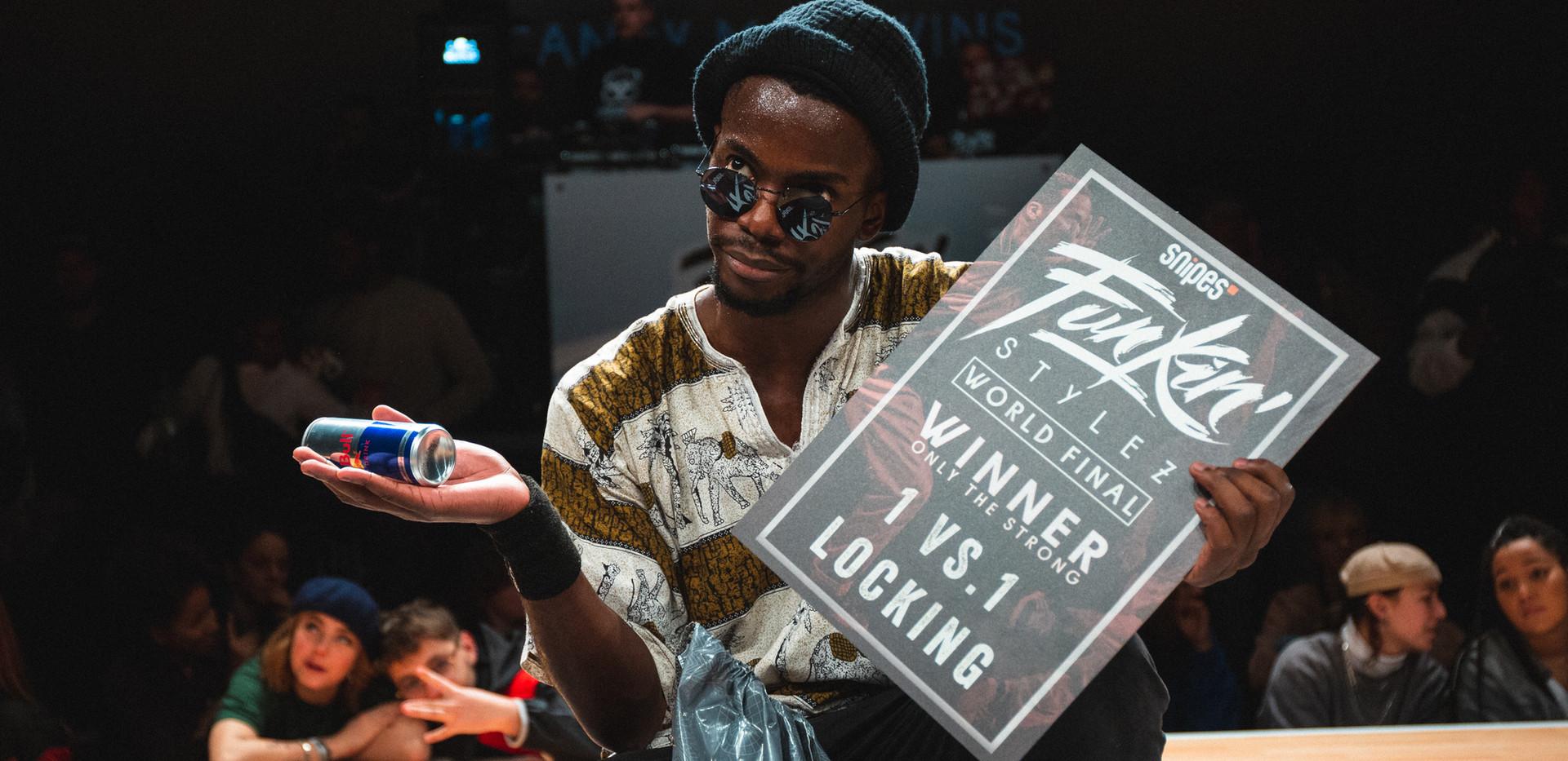 Candyman Winner Locking 2019