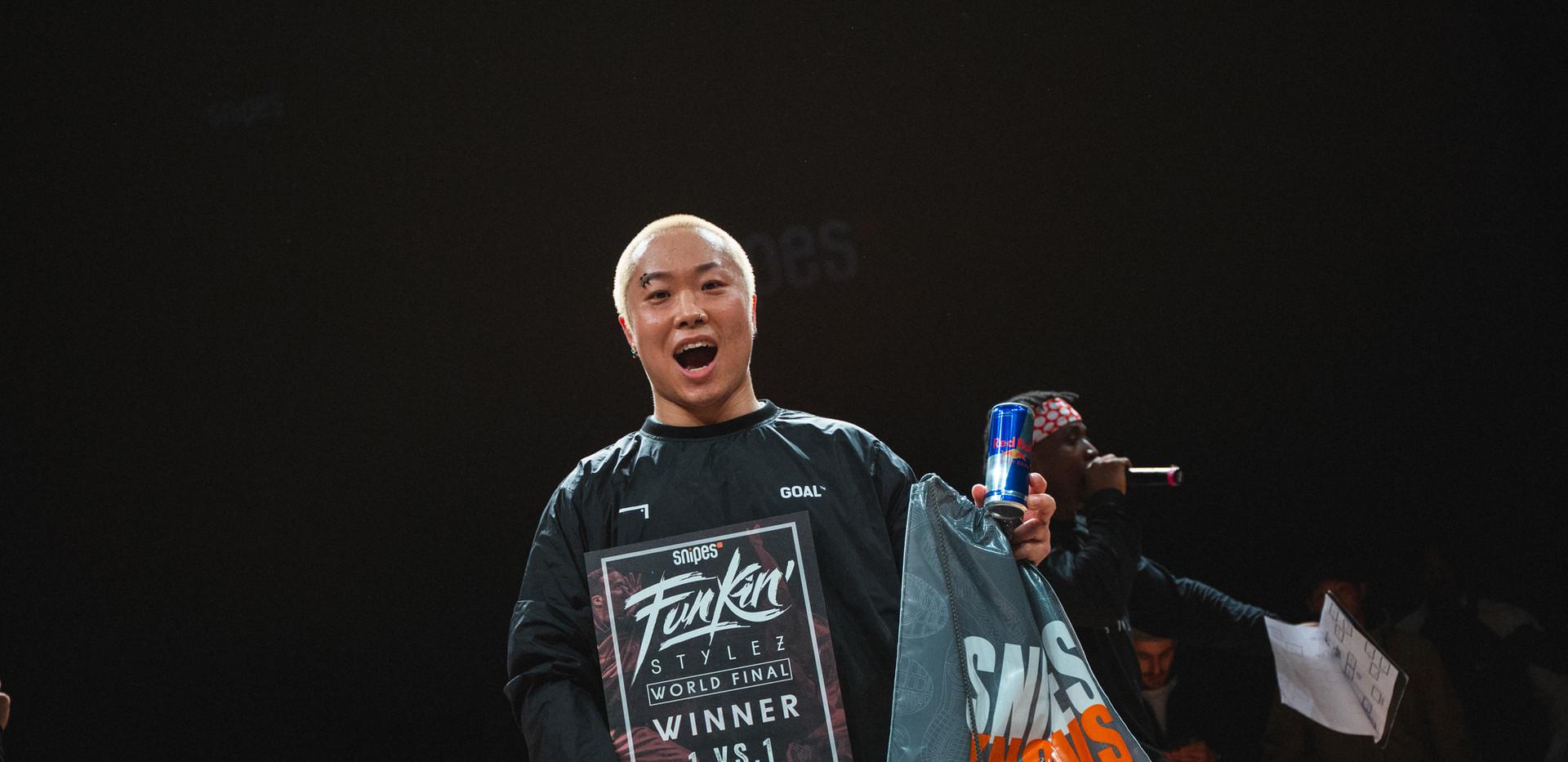 RHYTHMGATE Winner Freestyle