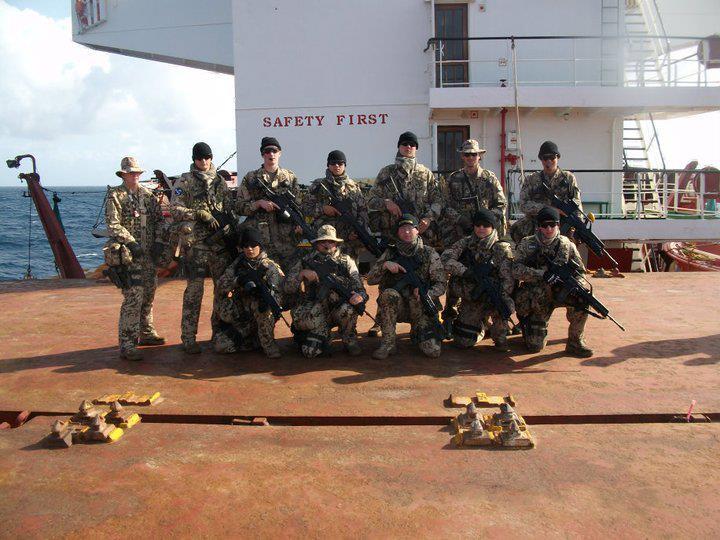 Teil der Besatzung – Fregatte SH