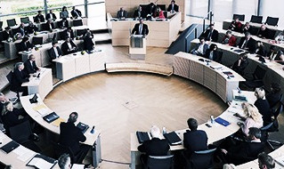 Zu Gast im Kieler Landtag