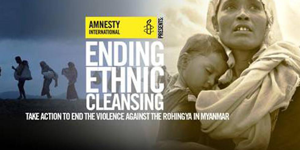 Amnesty Vortrag: Rohingya und ethnische Minderheiten in Myanmar