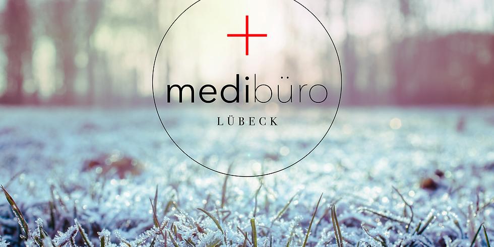 Glühwein- und Kennenlerntreffen MediBüro