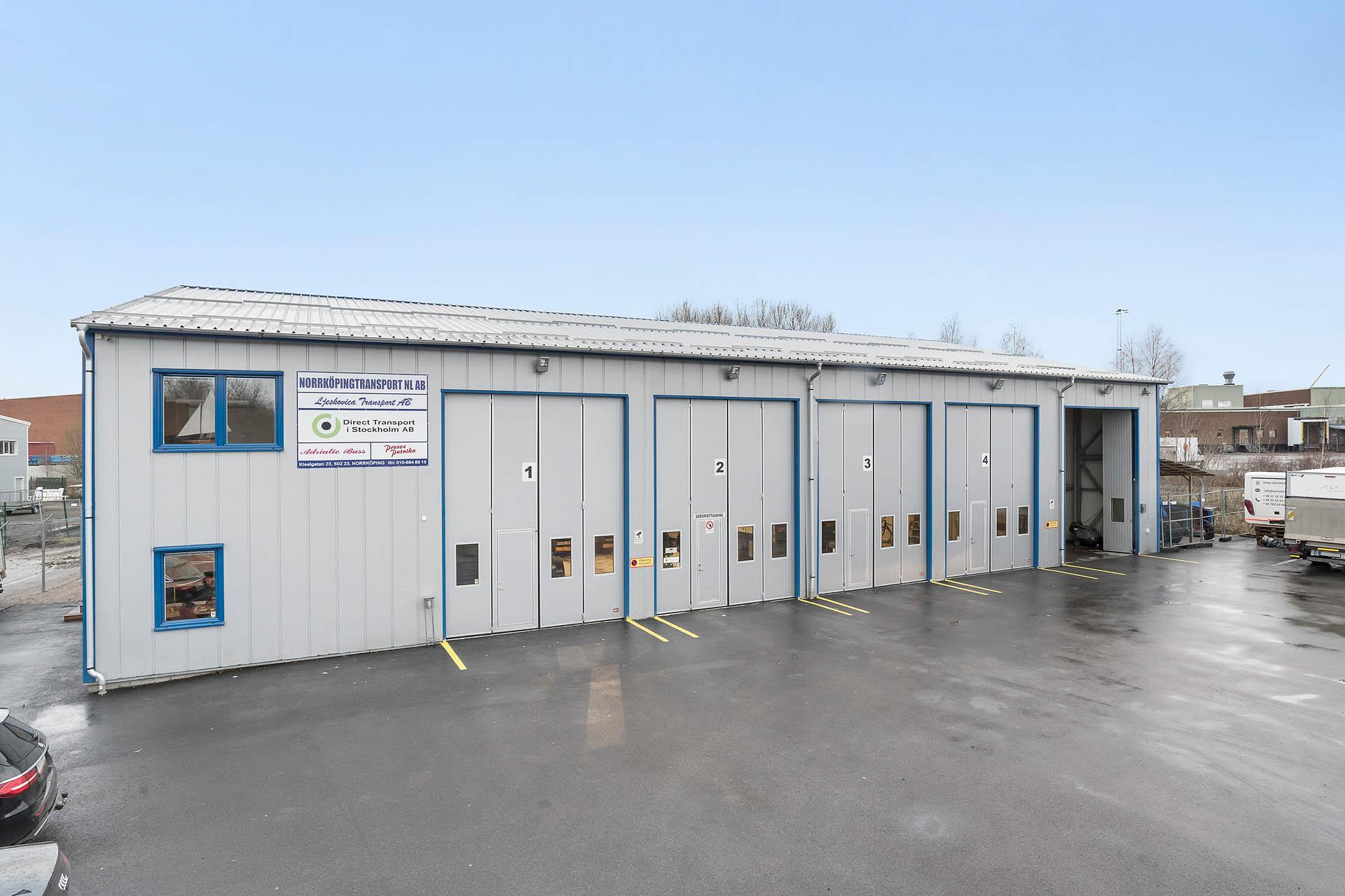 Industri Kiselgatan 23 - Maxiområdet