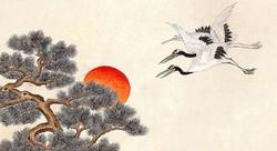 minwha_korean_folk_art__pines_and_cranes_by_kimsingu-d7mrake