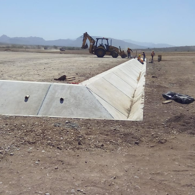 Infraestructura de Evacuación PFV Navojoa (Obra Civil,Terracerías)