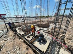 Construcción de Bodegas Periférico y Sosa Chávez