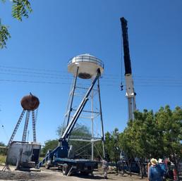 Tanque de Agua Potable Ej Fco. Sarabia