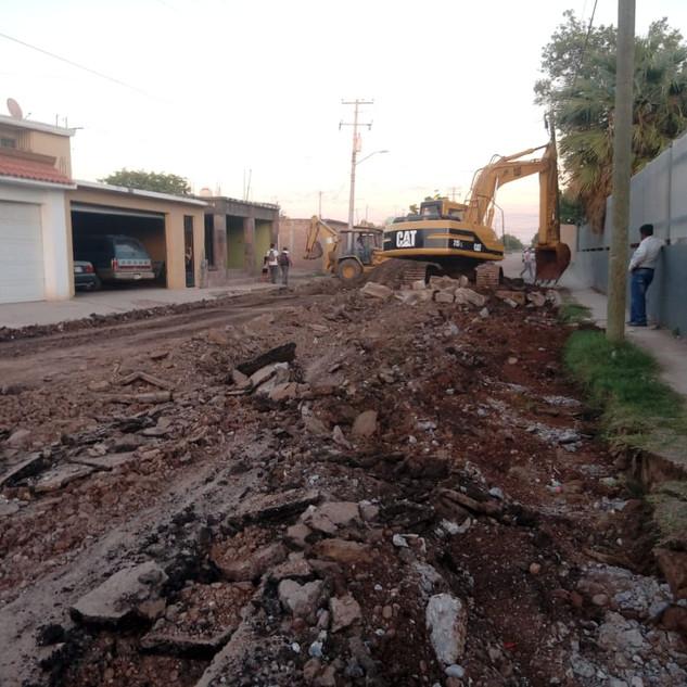 Pavimentación Jose Maria Leyva
