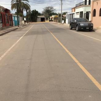 Pavimentación Jose Ma. Leyva