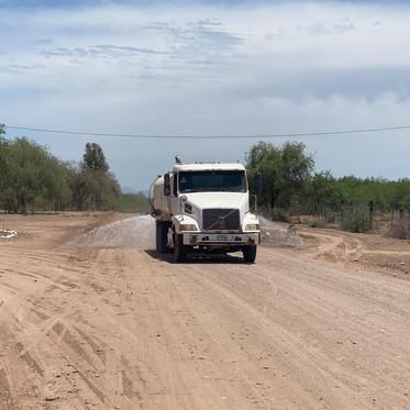 Rehabilitación y mantenimiento de caminos rurales
