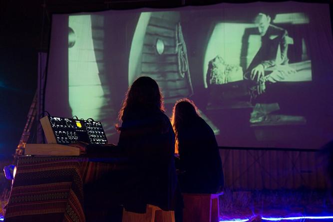 The Blue Starlite Drive-In Theatre