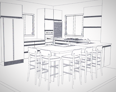 תכנון מטבח בדירת קבלן