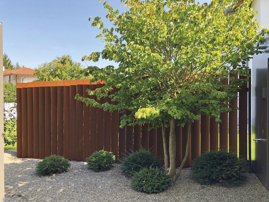 Zaun Sichtschutz 2