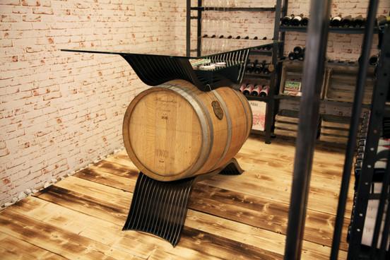 Weinfasstisch Vinesse Weinkapelle