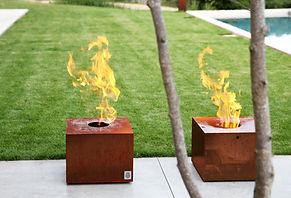 Firecube Außen-Pelletfeuerstelle
