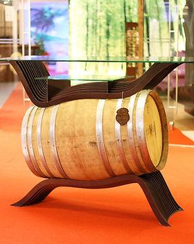Weinfasstisch Vinesse Front