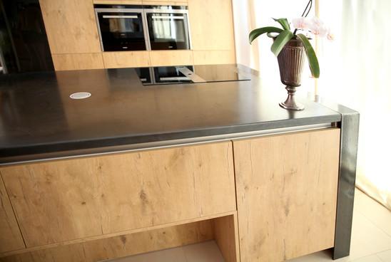 Küchenarbeitsplatte aus Cortenstahl