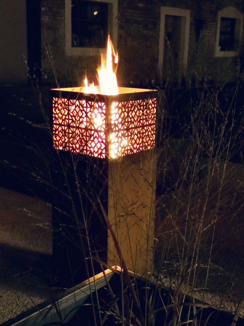 Feuersäule, Modell Geometrie