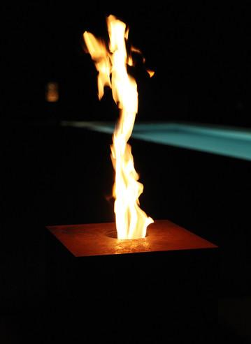 Firecube Outdoor Pellet-Feuerstelle