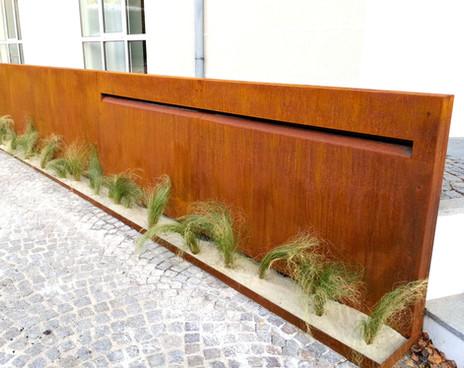 Sichtschutz Eingang