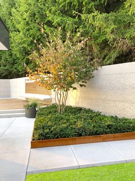 Baumbegrenzung Garten