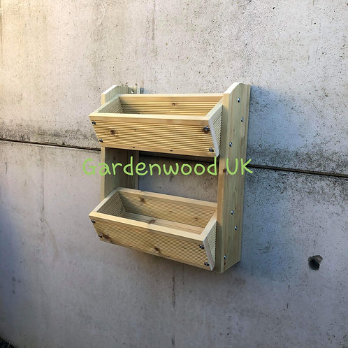 2 Tier Wall Mounted Planter (H)