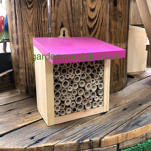 Bamboo Bee House - Different Colours Available