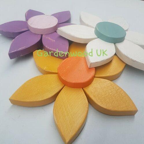 Single Handmade 30cm Wooden Flower