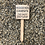 Thumbnail: Hedgehog Campsite Wooden Sign. Different colours available.