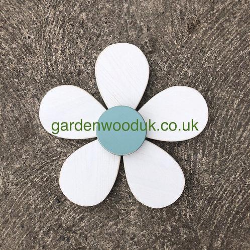 Single 30cm Wooden Daisy Flower (5 petals)