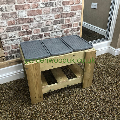 Small Triple Sand/Water Table (3 small boxes)