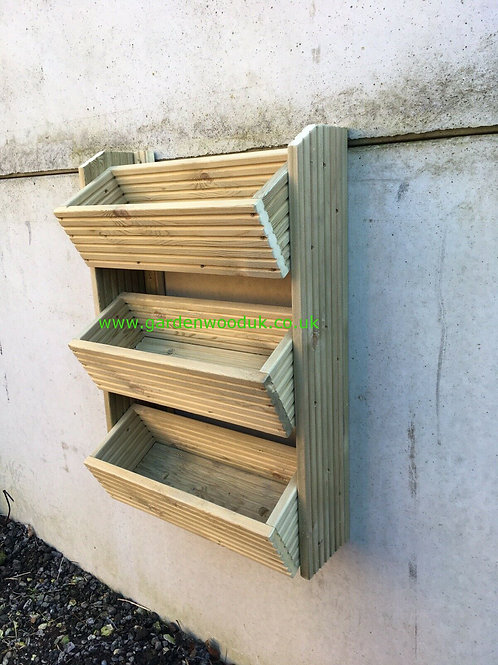 3 Tier Wall Mounted Planter