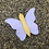 Thumbnail: Single Wooden Butterfly