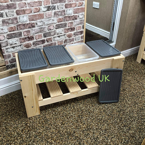 1000mm Four Box Sand and Water Table (4 boxes)