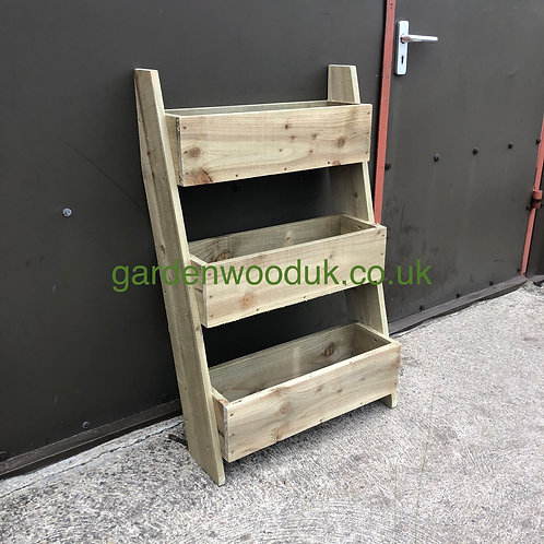 Leaning Rustic 3 Tier 600mm Wide