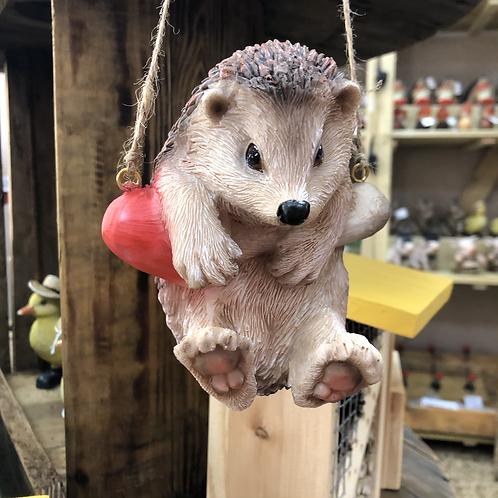 Hanging Hedgehog Ornament