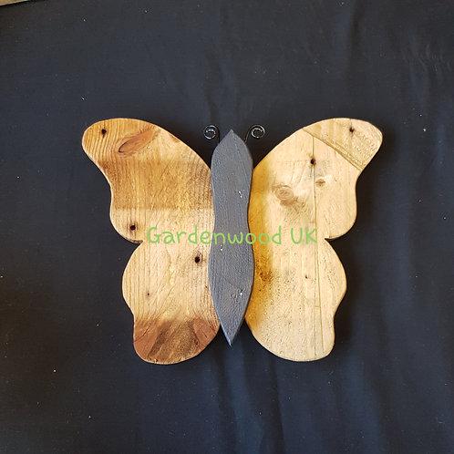 Single 26cm Wooden Butterfly