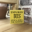 Thumbnail: Busy Bees Garden Wooden Sign. Different colours available