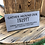 Thumbnail: Handmade Wooden Firepit Sign. Different colours availa