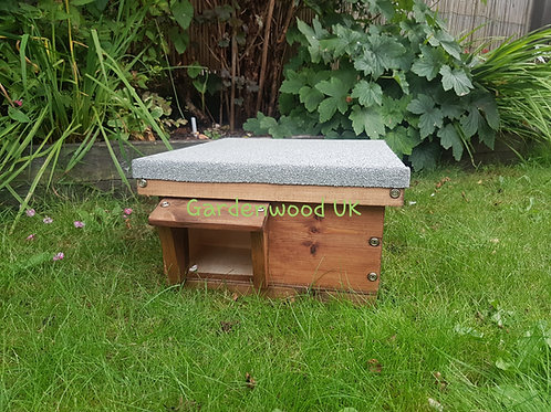 Flat Roof Hedgehog House